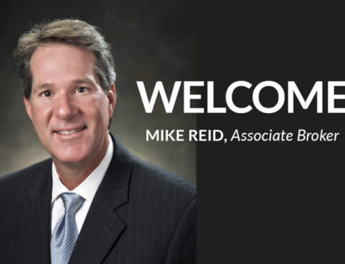 Welcome Our New Associate Broker, Mike Reid